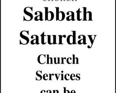 SEVENTH-DAY ADVENTIST CHURCH ...