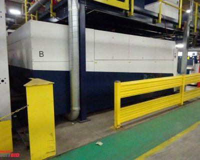 Trumpf Model 5040 5000 watt CNC Fiber Sheet Laser