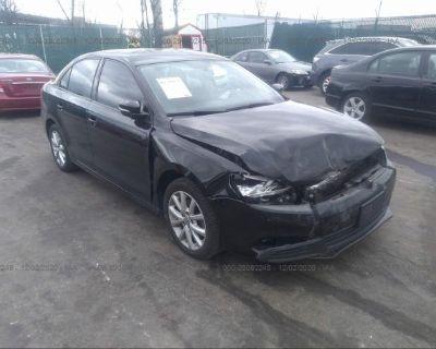 Salvage Black 2011 Volkswagen Jetta Sedan