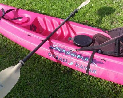 Ocean kayak scambler