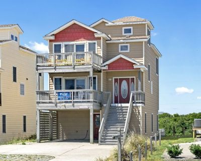 Seatopia: Oceanside with a private pool and hot tub, awesome sound views. - Nags Head