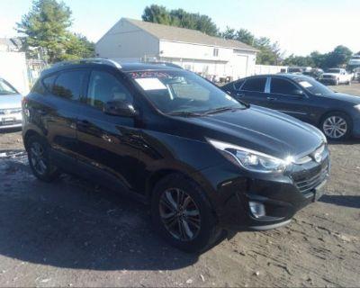 Salvage Black 2015 Hyundai Tucson