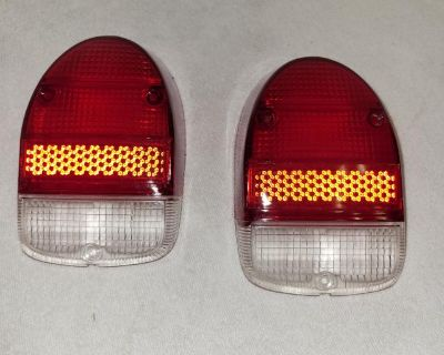 Set of Rear Tail Light Lenses for Beetle 68-up