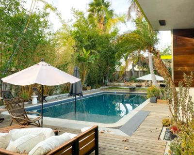Mid Century Modern NoHo House with sparkling Pool, North Hollywood, CA