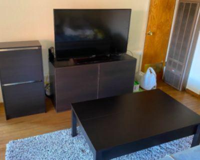 IKEA - TV STAND, COFFEE TABLE, AND SHOE STORAGE (SET)