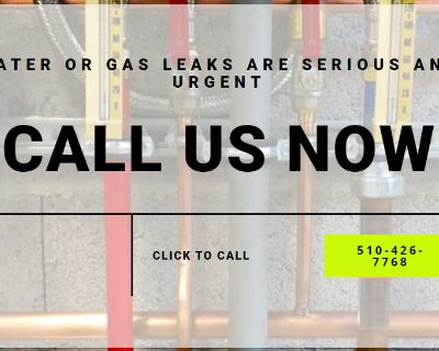 Gas And Water Leaks in Fremont