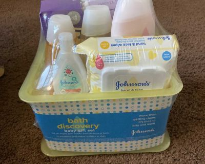 Bath Discovery baby gift set