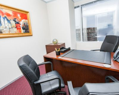 Downtown Private Office for 3, Boston, MA