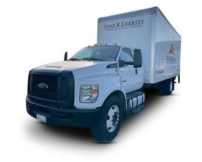 2016 FORD F650 Box Trucks, Cargo Vans Medium Duty