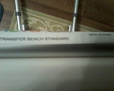 Never Used Nova Standard Transfer Bench