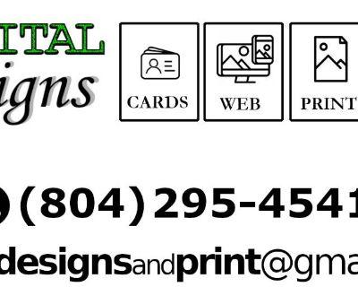 Digital Designs and Printing