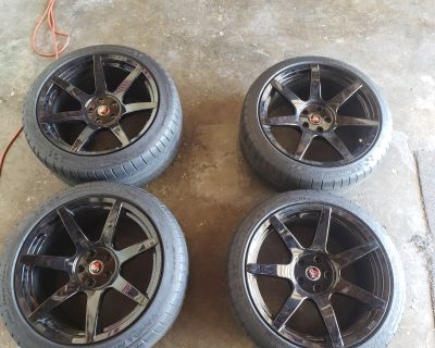 """19"""" Project6GR wheels+tires"""