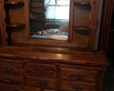 Ladies hutch dresser