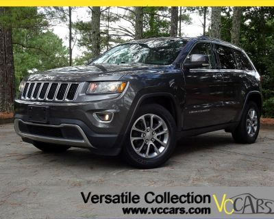 2014 Jeep Grand Cherokee 4WD Limited Tech Navigation Back Up Camera Sunroof