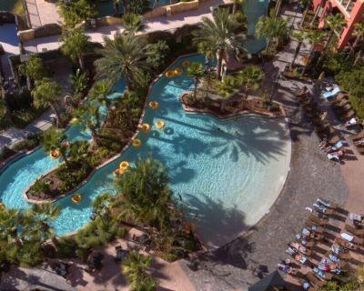 Commodious Club Wyndham Bonnet Creek Resort, 2 Bedroom Suite, Not Far from Disney's Utopia - Lake Buena Vista