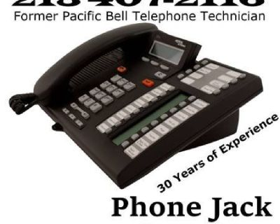 Frontier PHONE JACKS,AVAYA.SPECTRUM.DSL.UVERSE REPAIR