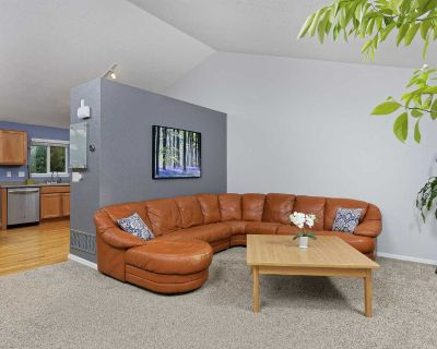 Burnt Orange Leather Sectional Couch