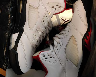 Air Jordan Retro 5 Fire Red Og