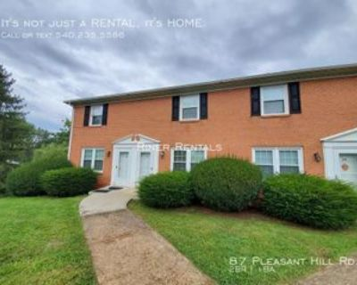 87 Pleasant Hill Rd, Harrisonburg, VA 22801 2 Bedroom House