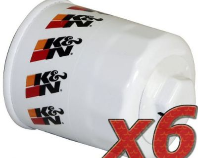 6 Pack: Oil Filter K&n Hp-1003 (6) For Auto/truck Applications