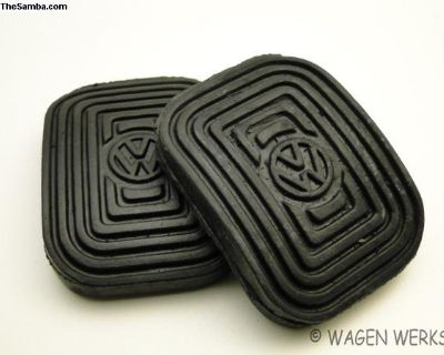 Type 2 Pedal Pads - 1958 to 1976