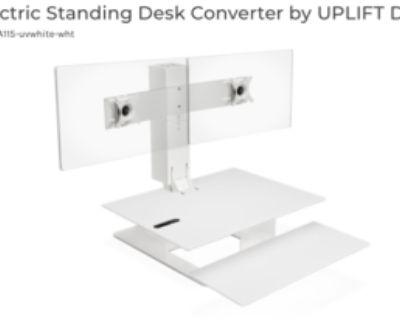UPLIFT E7 Electric Standing Desk Converter