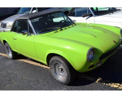 1977 Fiat Spider