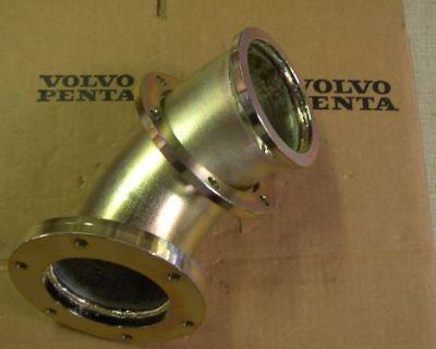 Volvo Penta D12 Intermediate Exhaust Pipe Elbow 3827940