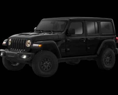 New 2021 Jeep Wrangler Unlimited Rubicon 392 With Navigation & 4WD