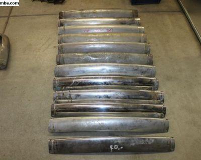 Ghia Rear Bumper Center Blades
