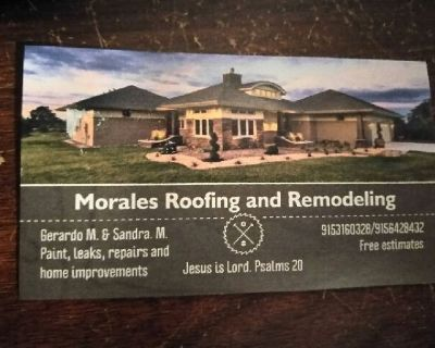 Roof repairs and home improvements