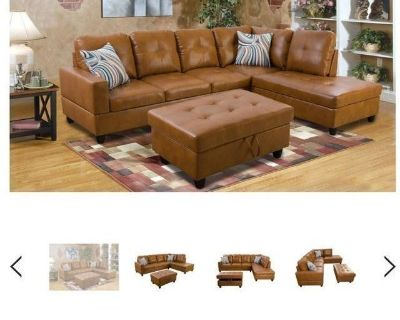 Part of sectional, side couch only.