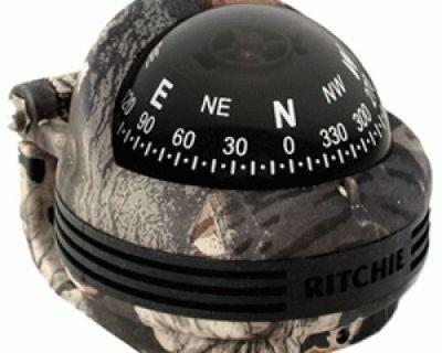 E.s. Ritchie #tr-31b - Break-up Camo Trek Bracket Mount Compass - 2.25in Dial