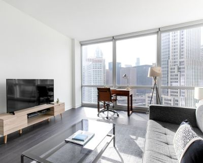Dreamy Streeterville Convertible w/ Gym + Pool by Blueground - Streeterville