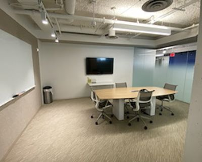 Private Meeting Room for 6 at Launchpad K Street