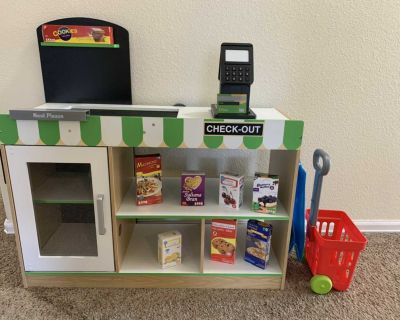 Kids Play Grocery Store
