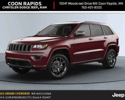 2021 Jeep Grand Cherokee 80th Anniversary Edition 80th Special Edition