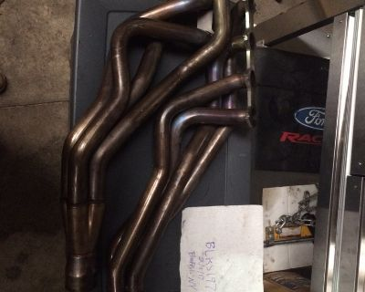 """American Racing Headers (2005-2010) with 1-3/4"""" Primaries 3"""" Collector and ORX Pipe"""
