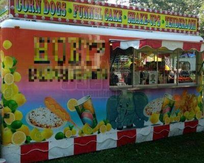 8.5' x 16' Waymatic Fair Food Concession Trailer/ Used Fry Trailer