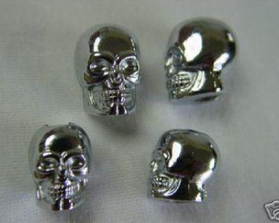 Skull Wheel Weights Custom 4 Harley Indian