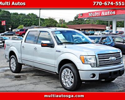 Used 2009 Ford F-150 Platinum SuperCrew 6.5-ft. Bed 4wd