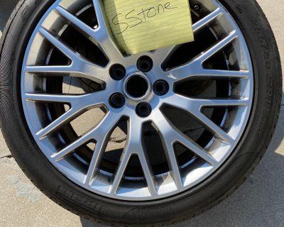 PP1 OEM Nickel Wheels plus tires