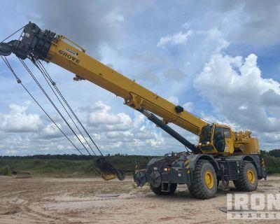 2015 Grove RT880E 80 ton 4x4 Rough Terrain Crane