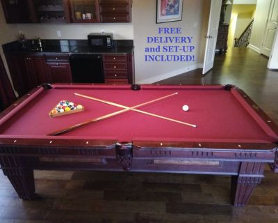 ProLine 8' Pool Table-FREE DELIVERY and SET-UP INCLUDED