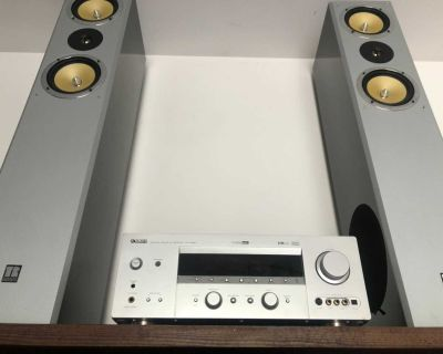 Yamaha Receiver with speakers and sub
