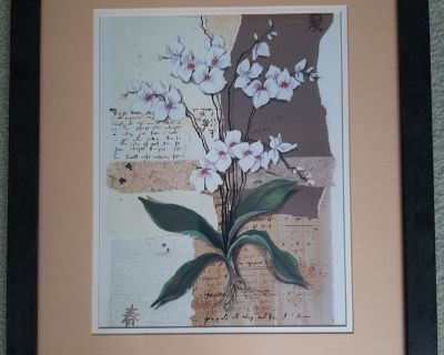 Framed picture-flowers