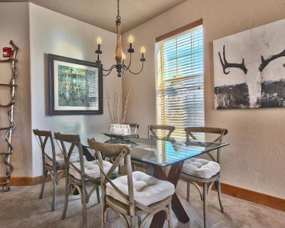Fox Point condo, Walk/Restaurant, King & Q. beds, 2 bikes, gas fireplace & grill - South Snyderville Basin