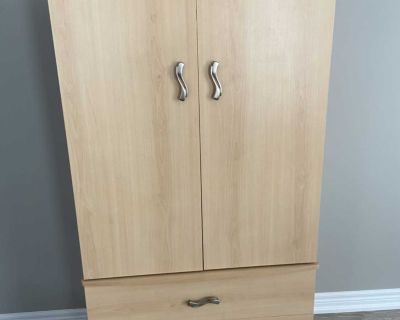 Armoire and bed side table