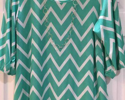 Women s 3/4 Sleeve Shirt Sz L