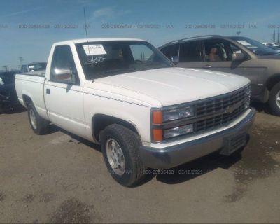 Salvage White 1992 Chevrolet Gmt-400